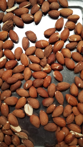 Nyrostade mandlar