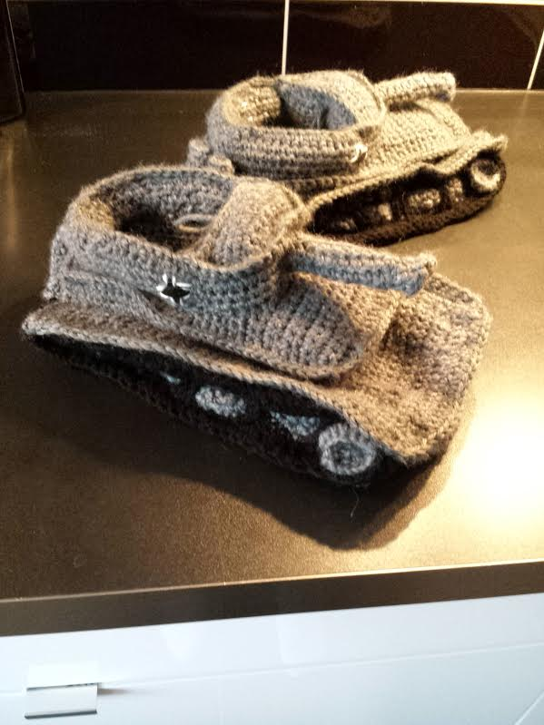 Tank Slippers Stitches And Supper