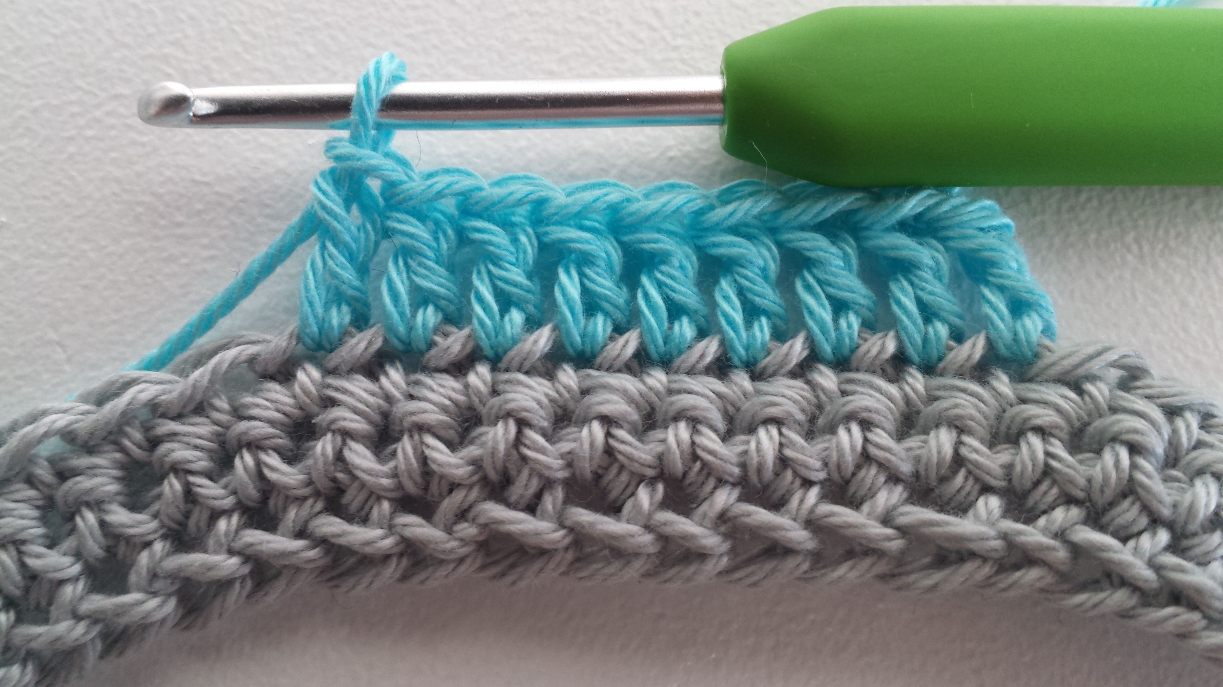 Standing Double Crochet Tutorial Stitches And Supper