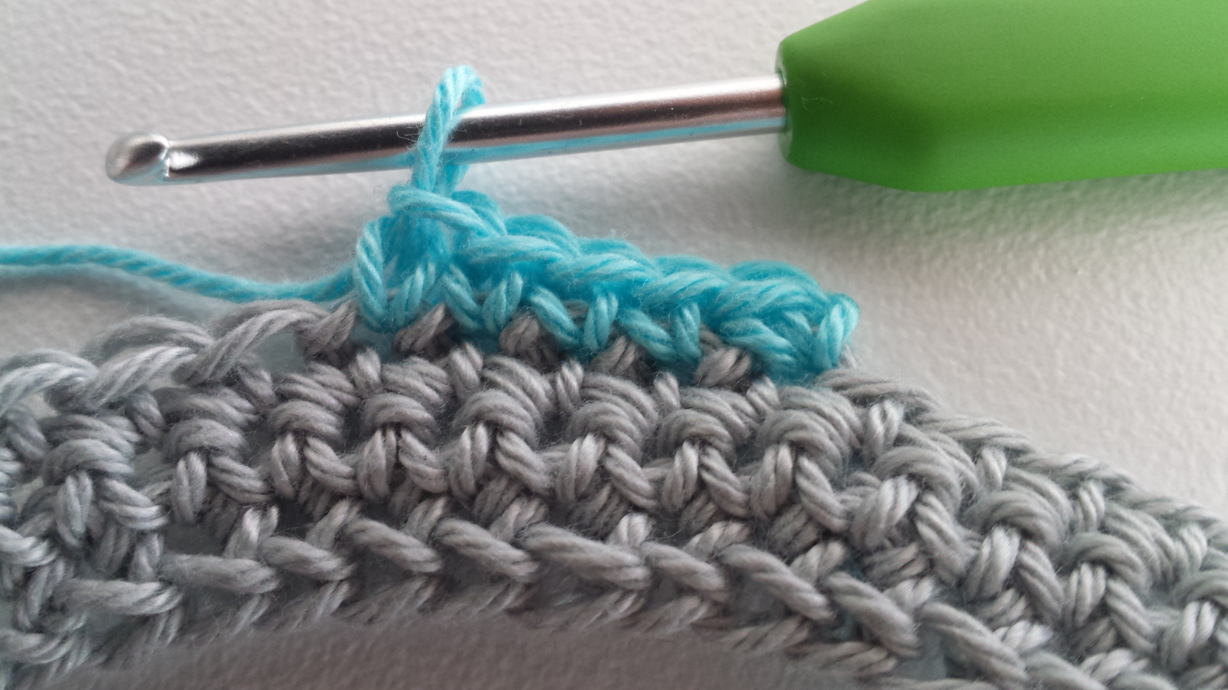 Standing Single Crochet Tutorial Stitches And Supper